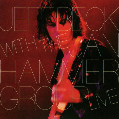 Jeff Beck Jeff Beck With The Jan Hammer Group Live LP