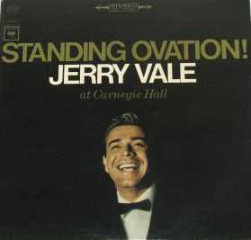 Jerry Vale - Standing Ovation! The Great Carnegie...