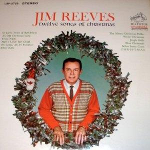 Twelve songs of christmas vinyl by Jim Reeves, LP with sedona-antiques - Ref:3059420372
