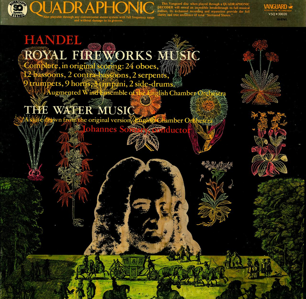 Handel Royal Fireworks Music / The Water Music