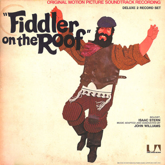 Fiddler On The Roof Original Motion Picture Soundtrack Recording Record
