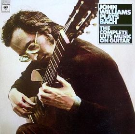 John Williams Bach: The Complete Lute Music On Guitar: John Williams LP
