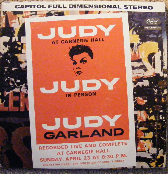 JUDY GARLAND - Judy At Carnegie Hall - LP