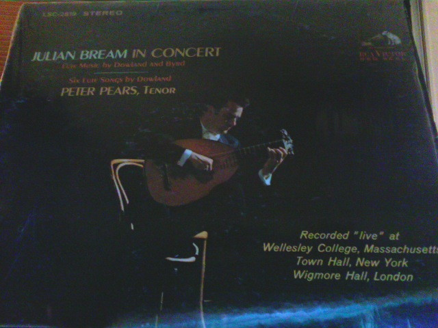 Julian Bream And Peter Pears In Concert