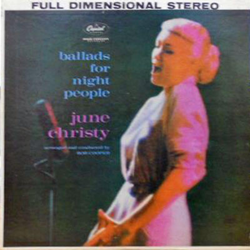 JUNE CHRISTY - Ballads For Night People - LP