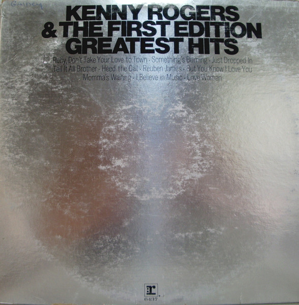 Greatest Hits [vinyl] Kenny Rogers And The First Edition - Kenny Rogers & the First Edition