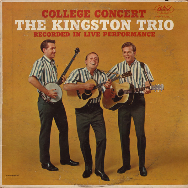 The Kingston Trio College+Concert LP