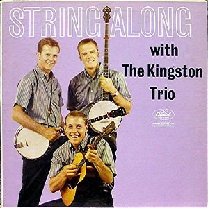 The Kingston Trio String+Along LP