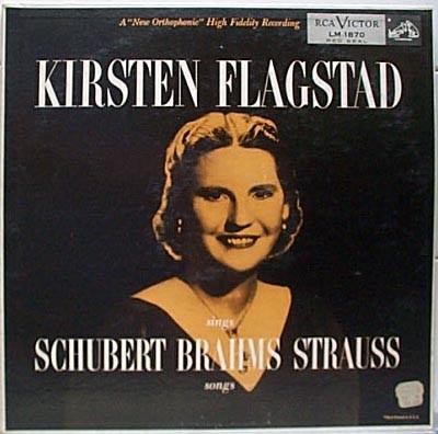 Sings Schubert Brahms Strauss Songs