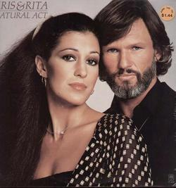 Kris Kristofferson And Rita Coolidge Natural Act LP