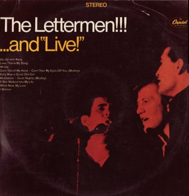 "The Lettermen!!! . . . And ""Live!"""