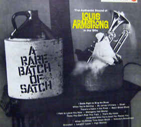 Louis Armstrong & His Orchestra - A Rare Batch Of Satch Record