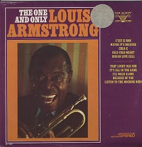 Louis Armstrong The+One+And+Only+Louis+Armstrong LP