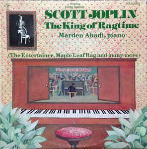 Scott Joplin The King Of Ragtime Vinyl