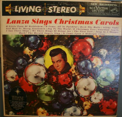 Lanza Sings Christmas Carols Vinyl