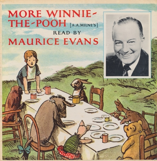 Maurice Evans - Reads A. A. Milne More Winnie-the-pooh