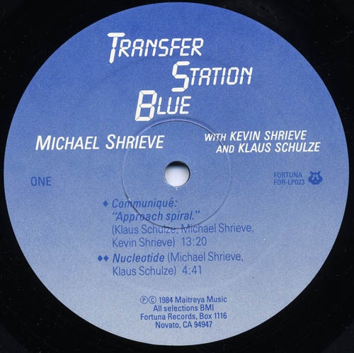 Transfer Blue Station White Vinyl
