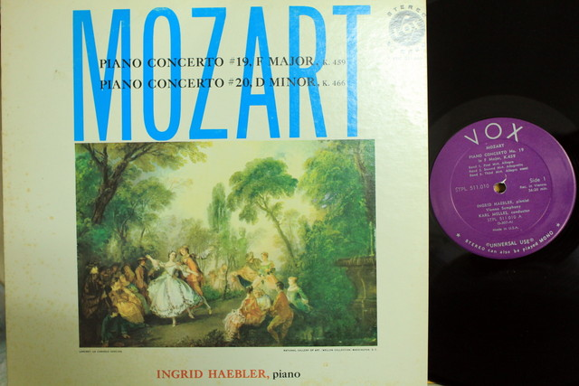 Mozart: Concerto No. 19 F Major K. 459 & Piano Concerto No. 20 D Minor K. 466