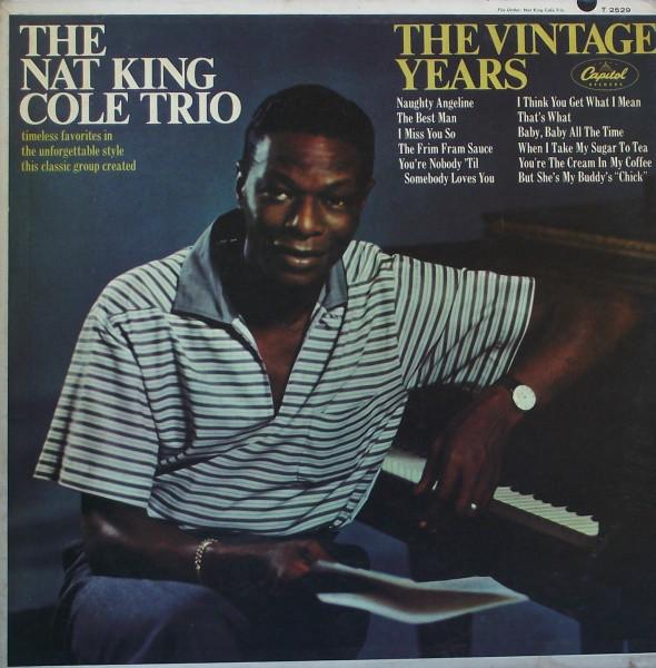 Nat King Cole Vinyl Record Albums