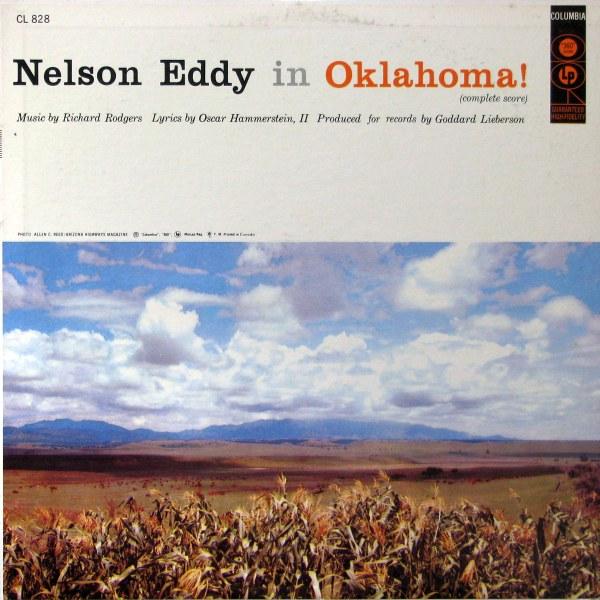 NELSON EDDY - Oklahoma! - LP