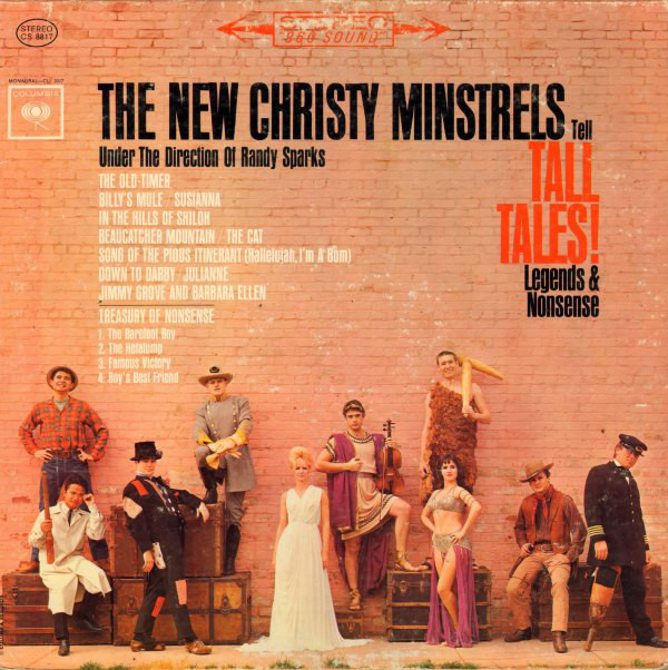 The New Christy Minstrels Tell Tall Tales Legends And Nonsense Record