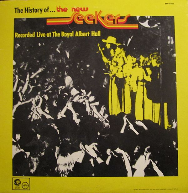 The New Seekers The History Of The New Seekers Recorded Live At The Royal Albert Hall LP