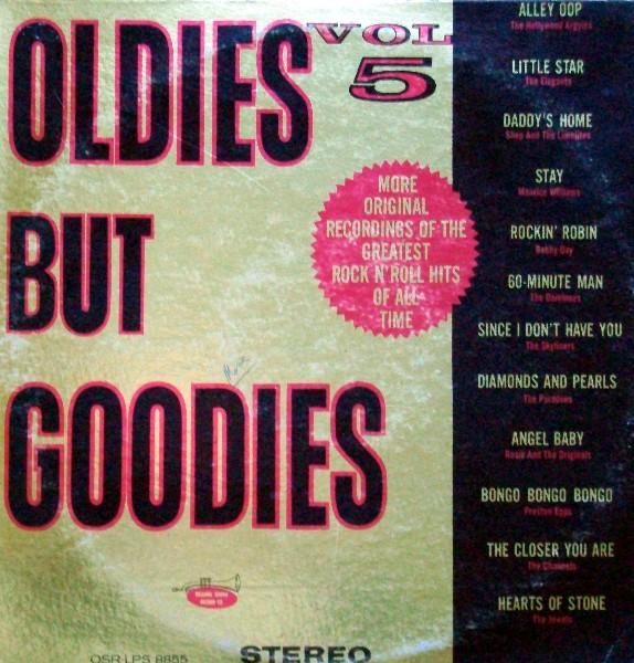 Oldies But Goodies Vol 5 Vinyl Various Artists