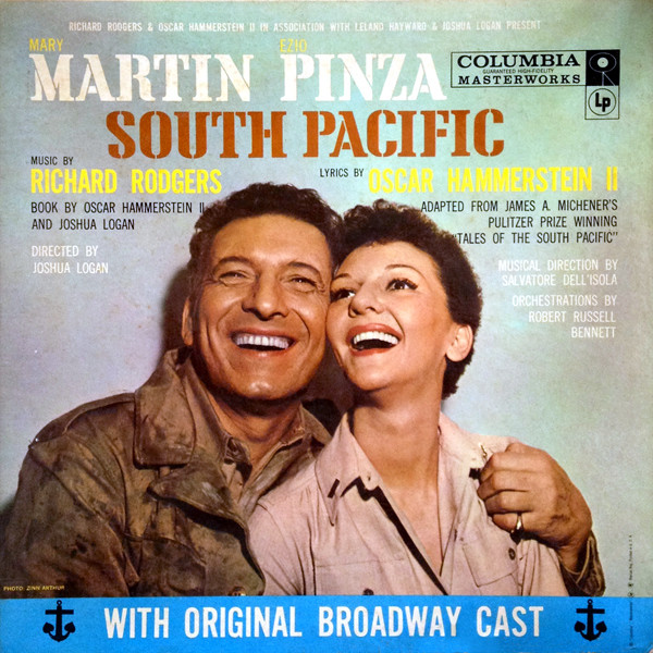 SOUTH PACIFIC - South Pacific [Original Broadway Cast Recording] [Electronically Re-Channeled... - LP
