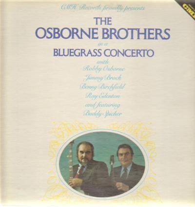 Bluegrass Concerto - Osborne Brothers