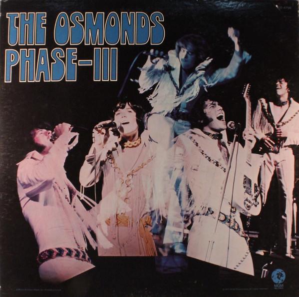 The Osmonds Vinyl Record Albums