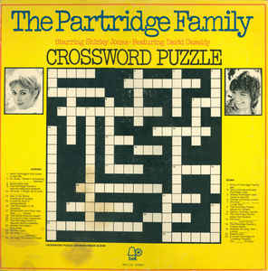 Partridge Family - Crossword Puzzle [vinyl] The Partridge Family