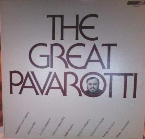 The Great Pavarotti - Luciano Pavarotti