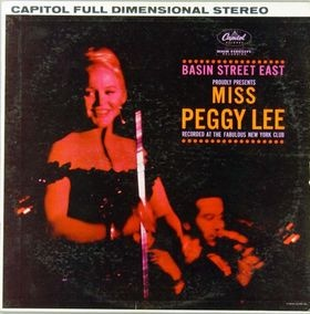 Peggy Lee Basin Street East Records Lps Vinyl And Cds