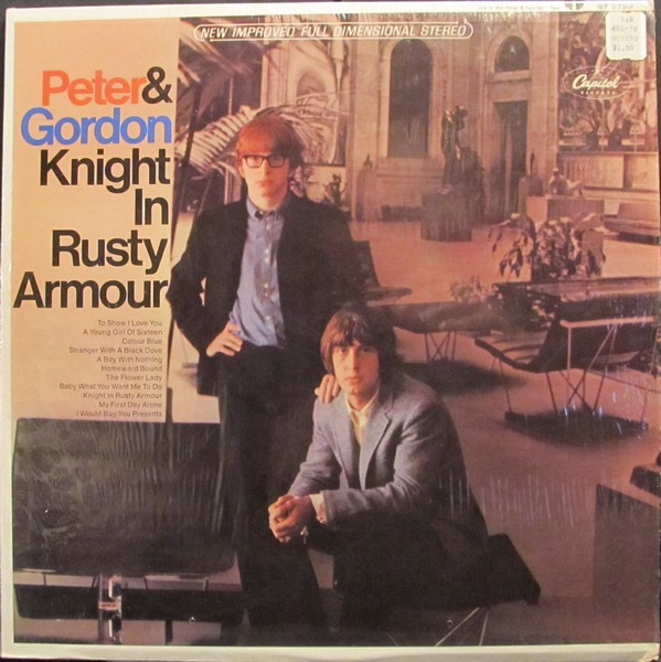 Peter Gordon Knight In Rusty Armour