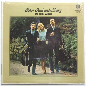 Peter Paul &amp; Mary - In The Wind Vinyl