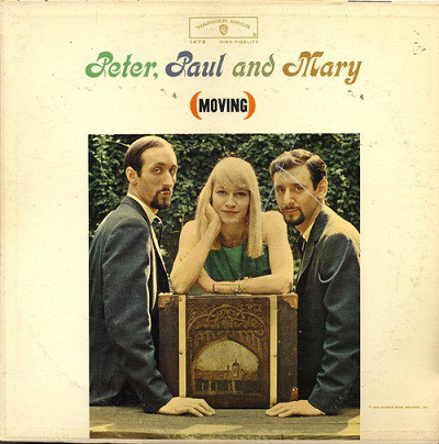 Peter Paul & Mary - Moving [vinyl] Peter Paul & Mary