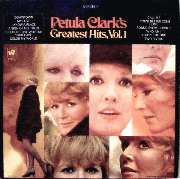 Petula Clark Petula+Clark's+Greatest+Hits+Vol.+1 LP