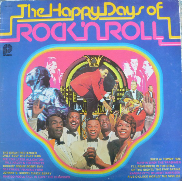 The Happy Days Of Rock & 39 N Roll Vinyl
