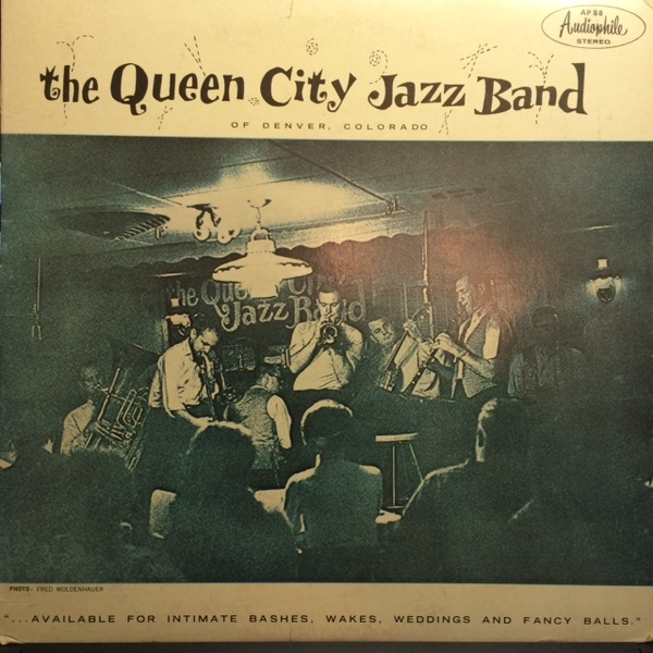 The Queen City Jazz Band Vinyl Record Albums