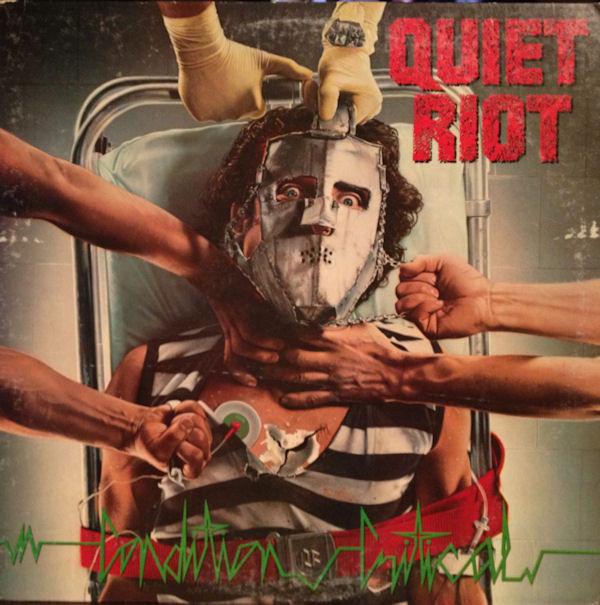 Quiet Riot Vinyl Record Albums