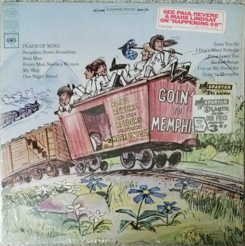 Goin& 39 to Memphis LP Paul Revere & the Raiders Mark Lindsay