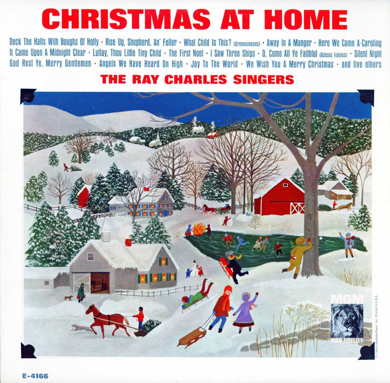 The Ray Charles Singers Vinyl Record Albums