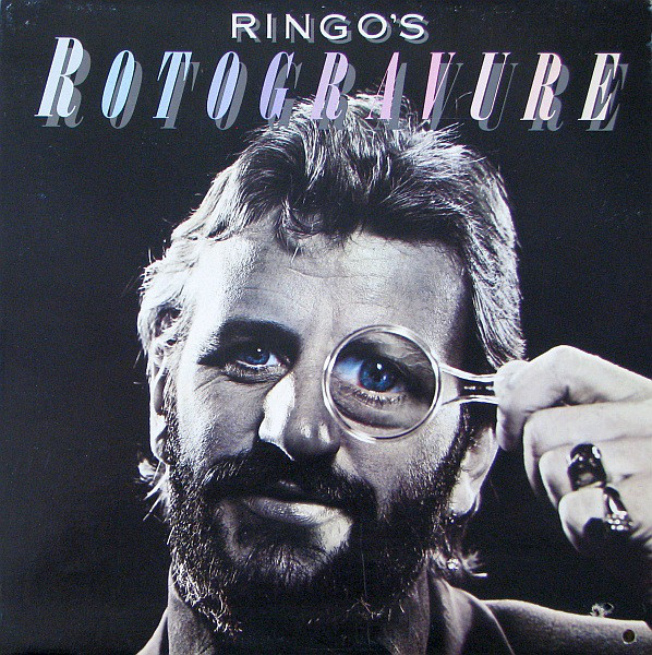 Ringo Starr Ringo's+Rotogravure LP