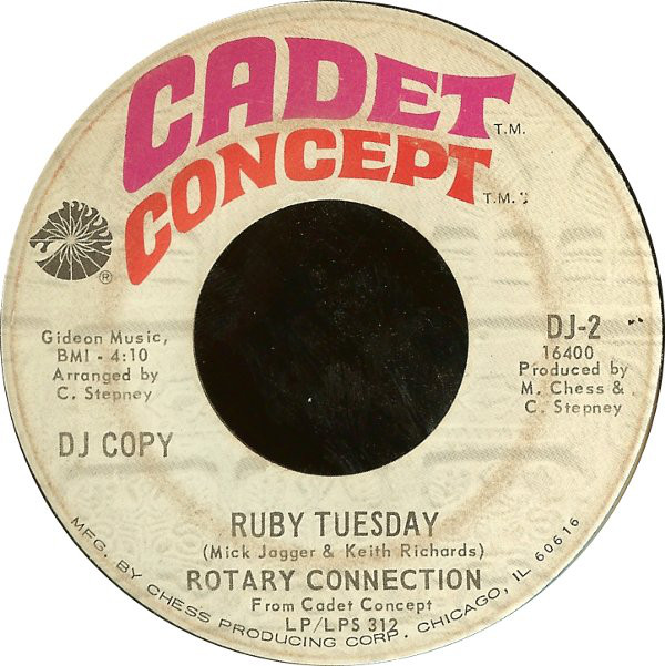 Ruby Tuesday / Soul Man