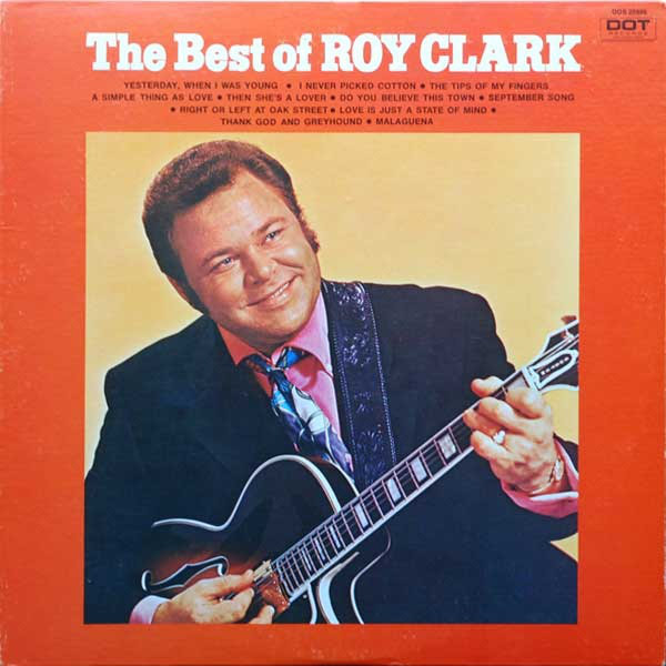 Roy Clark Vinyl Record Albums