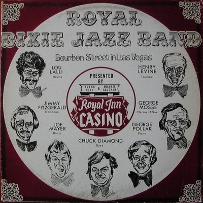 Royal Dixie Jazz Band Bourbon Street In Las Vegas Records