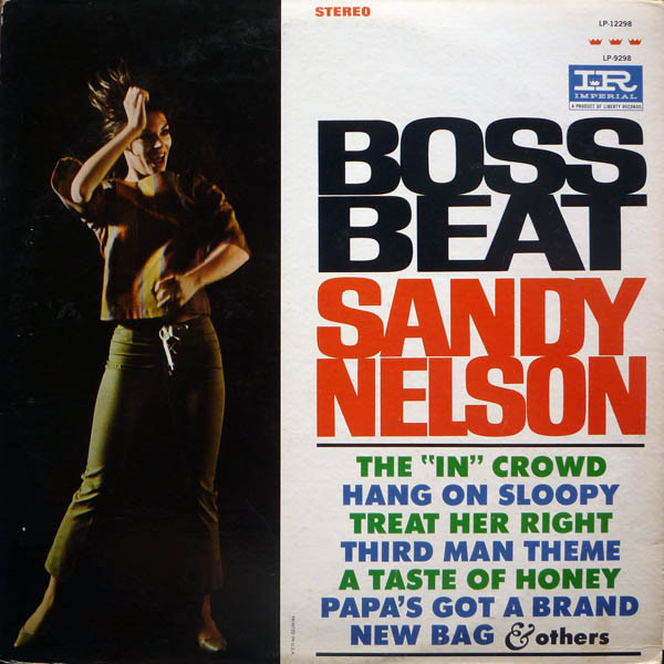 Sandy Nelson - Boss Beat [vinyl] Sandy Nelson