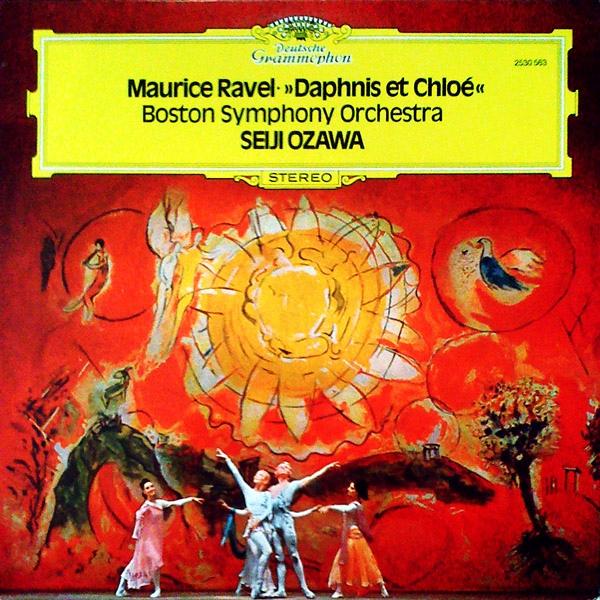 Maurice Ravel • Seiji Ozawa Ma Mère L'Oye • Menuet Antique • Le Tombeau De Couperin