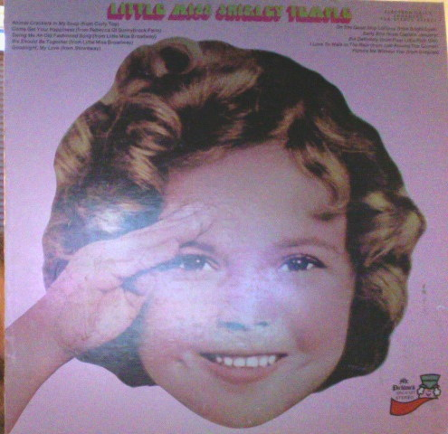 SHIRLEY TEMPLE - Little Miss Shirley Temple [Vinyl] Shirley Temple - 33T