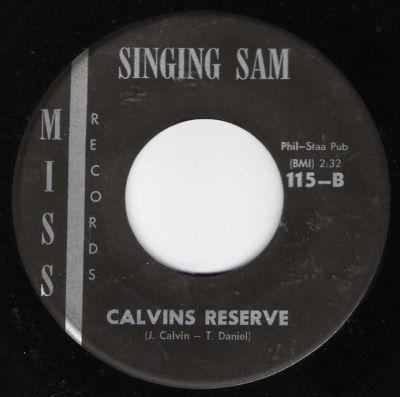 My Story Calvin& 39 s Reserve